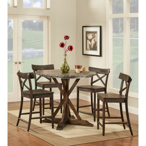 Burnsfield Counter Height Dining Table by Gracie Oaks