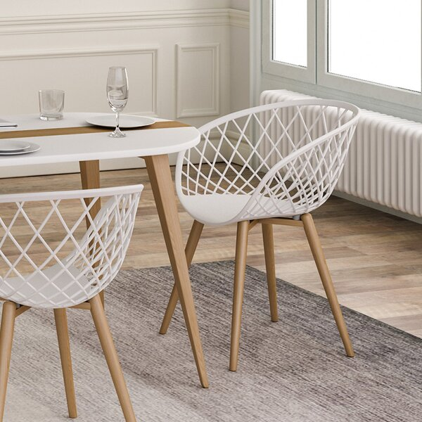 Brower Dining Chair (Set of 2) by Bungalow Rose