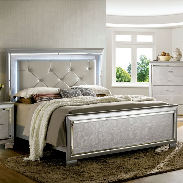 Withrow Upholstered Standard Bed by Willa Arlo Interiors