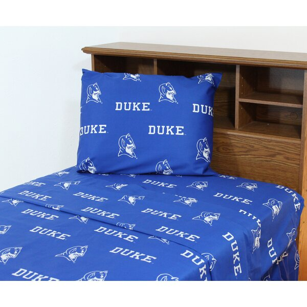 Ncaa Printed Sheet Set By College Covers.