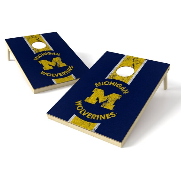 NCAA Heritage Cornhole Game Set by Tailgate Toss