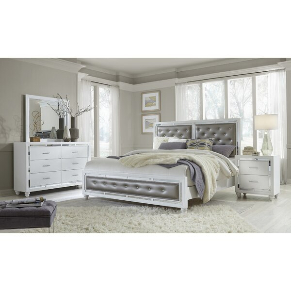 Rhona Upholstered Standard Bed by Rosdorf Park