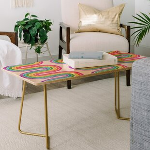 Best Schatzi Rainbow Wave Coffee Table ByEast Urban Home