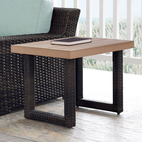Linwood Side Table by Beachcrest Home