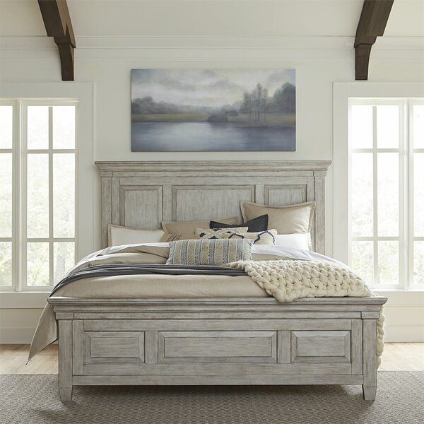 Heartland Sleigh Bed by Gracie Oaks
