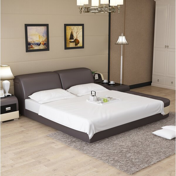 Amini Multifunction King Upholstered Storage Platform Bed by Ebern Designs