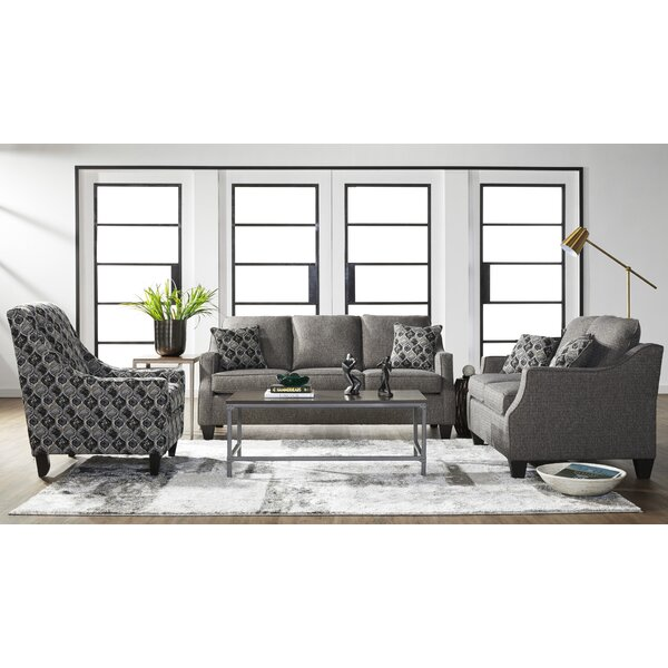 Serta Upholstery Zakary Configurable Living Room Set by Alcott Hill