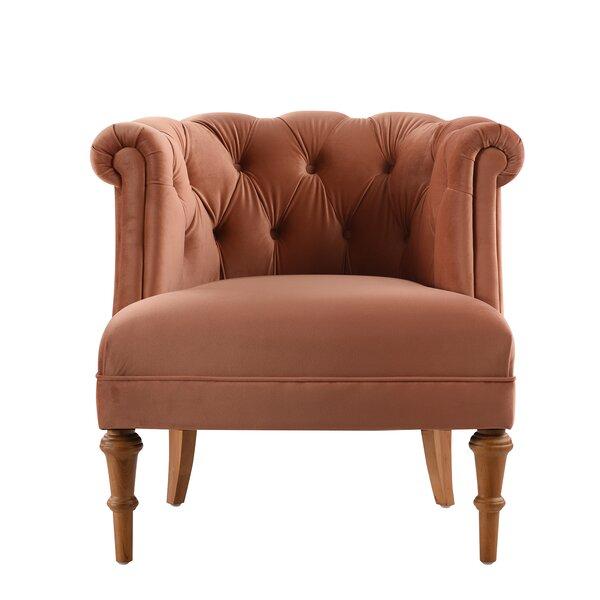 Constantine Slipper Chair by Everly Quinn