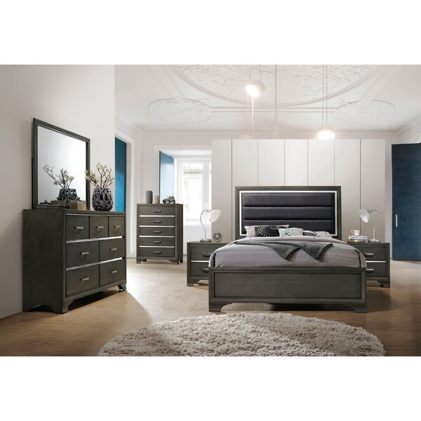 Anadolu Upholstered Standard Bed by Ivy Bronx