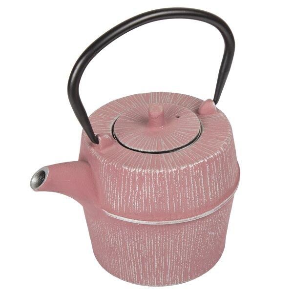 Seren 0.9 -qt. Cast Iron Teapot by August Grove