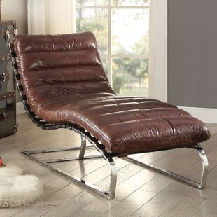 leather chaise lounge chair Leather Chaise Lounge Chairs You'll Love | Wayfair leather chaise lounge chair
