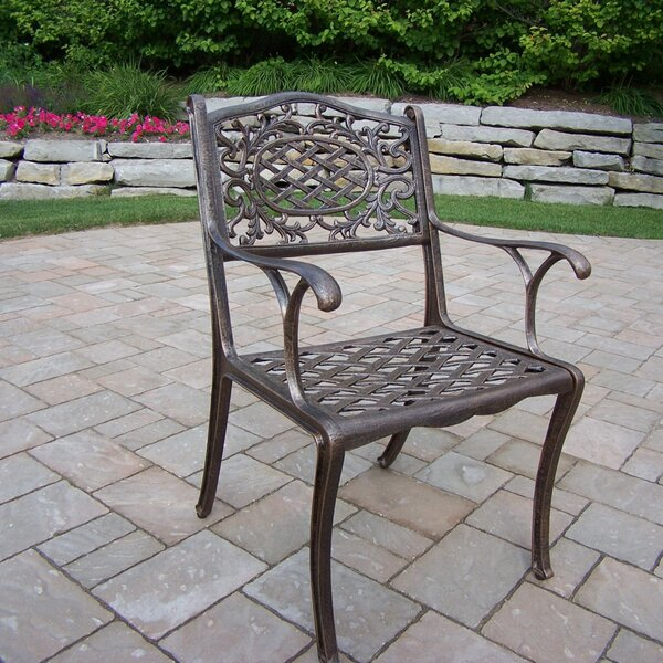 Mcgrady Patio Dining Chair by Astoria Grand