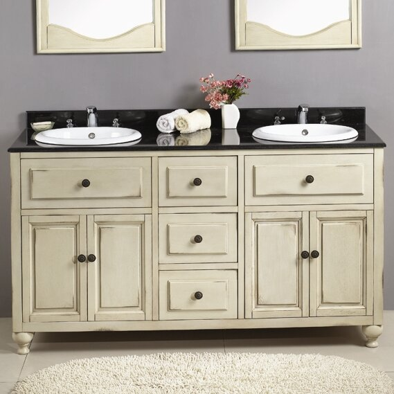 Kensington II 60 Double Bathroom Vanity Set by Ove Decors