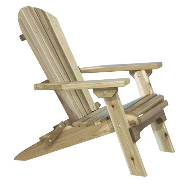 Abordale Solid Wood Folding Adirondack Chair by Loon Peak