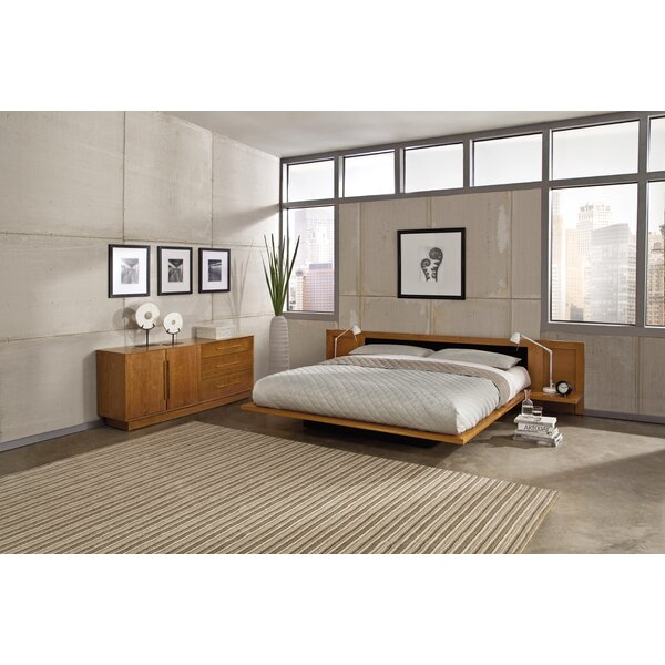 Moduluxe Upholstered Platform Bed by Copeland Furniture