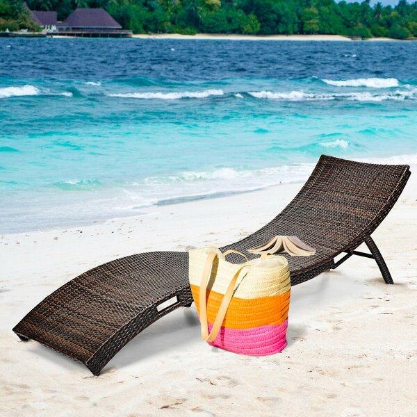 Tulsita Reclining Chaise Lounge
