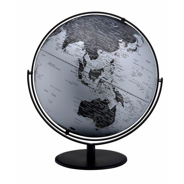 3D Mountain on Metal Frame Globe by Brayden Studio