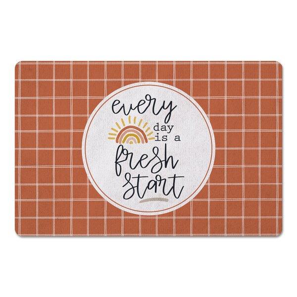 Ilmars Everyday Is a Fresh Start Kitchen Mat