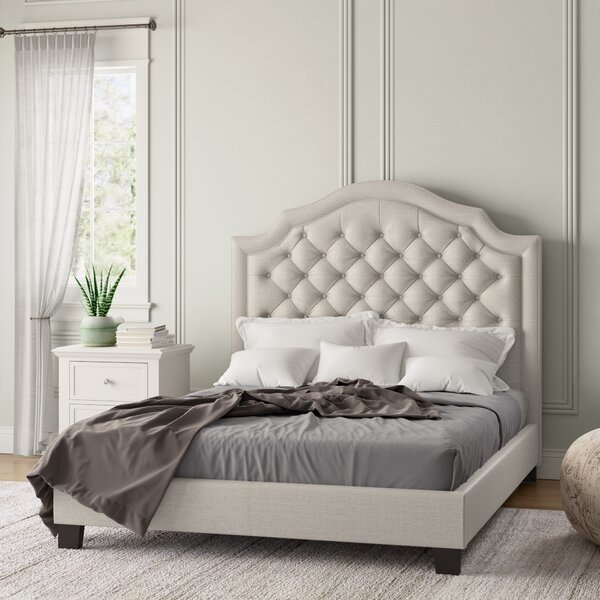Design Swanley Upholstered Standard Bed By Andover Mills No Copoun