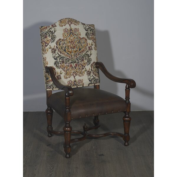 Bellegarde Upholstered Dining Chair by One Allium Way
