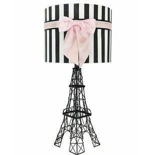 Eiffel tower table lamp wayfair hinsdale eiffel tower 25 table lamp aloadofball Images
