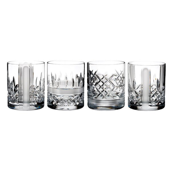 Lismore Revolution Tumbler 12 oz. Crystal Cocktail Glasses (Set of 4) by Waterford