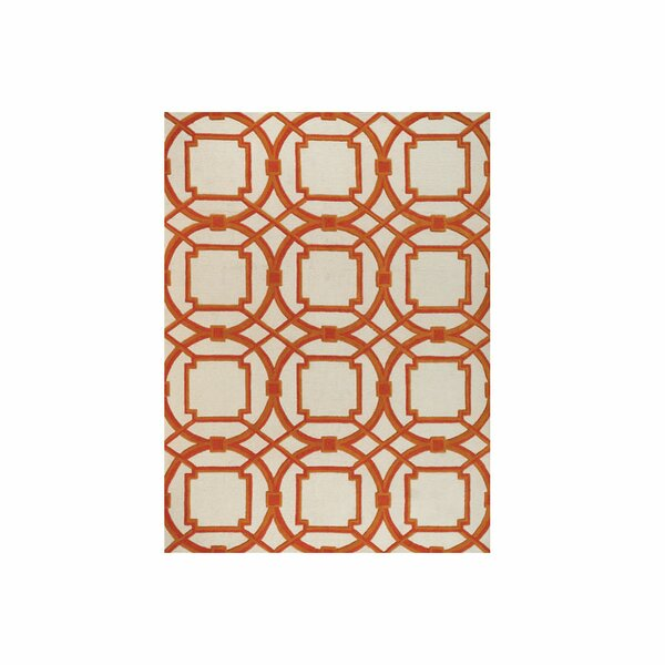 Arabesque Coral Area Rug by Global Views