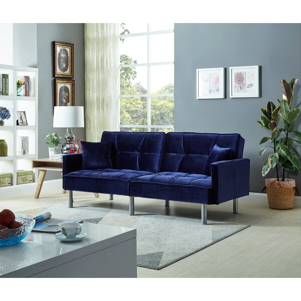 Silvester Sofa Bed by Ebern Designs Ebern Designs
