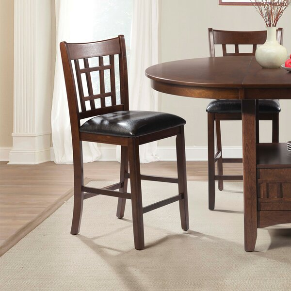 Mcnaughton Pub Dining Chair (Set of 2) by Alcott Hill Alcott Hill