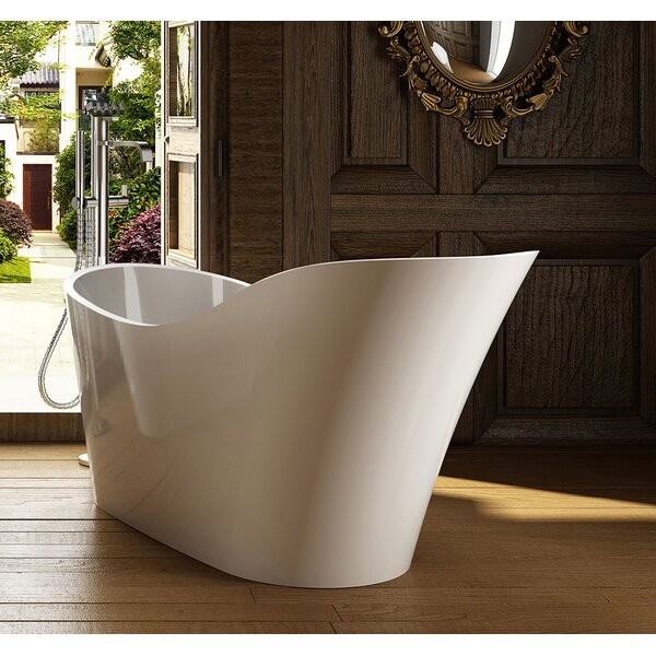 Napoli 67 x 29 Freestanding Soaking Bathtub by Jade Bath