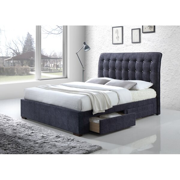 Sumter Upholstered Storage Sleigh Bed by Brayden Studio