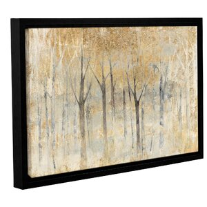 'Seasons End Gold' by Avery Tillmon Framed Painting Print by Andover Mills