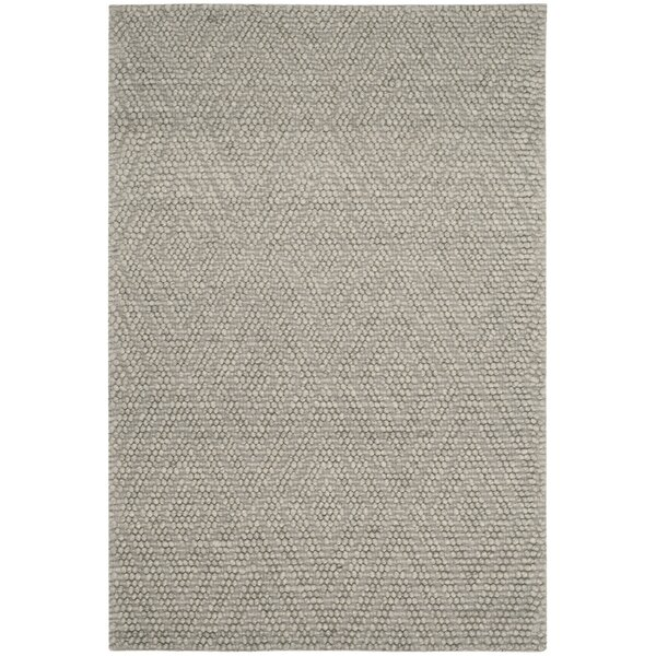 Billie Hand-Tufted Silver Area Rug by Laurel Foundry Modern Farmhouse