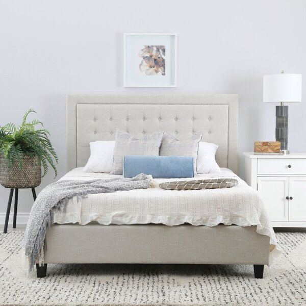 Gwyneth Tufted Upholstered Platform Bed by Modern Rustic Interiors