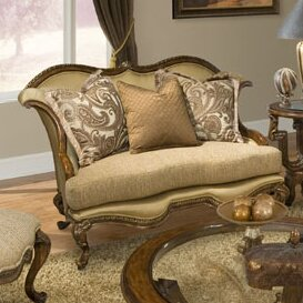 Holiday Shop Cloquet Loveseat by Fleur De Lis Living by Fleur De Lis Living