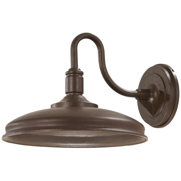 Lizarraga LED Outdoor Barn Light by Union Rustic