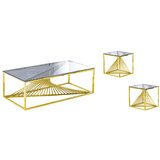 Jeffreys 3 Piece Coffee Table Sets by Everly Quinn