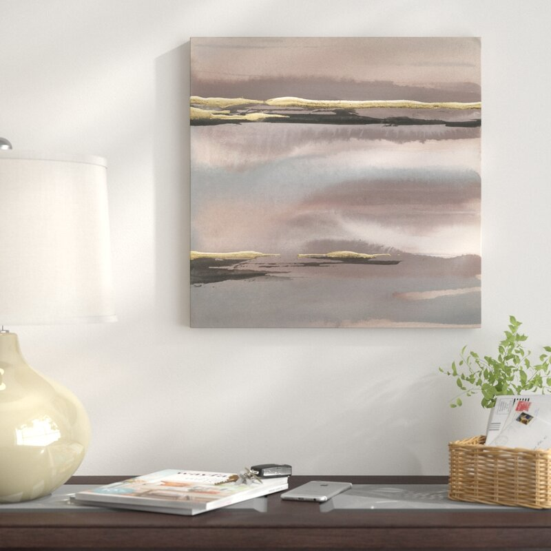 Global Gallery Chris Paschke Gilded Morning Fog I Canvas Artwork 18 x 18