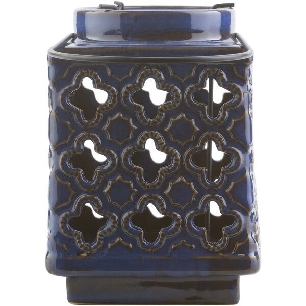 Ringsted Ceramic Lantern by Bungalow Rose