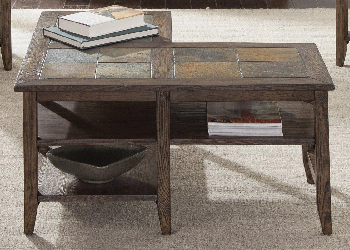 Stone \u0026 Slate Coffee Tables You\u0027ll Love | Wayfair