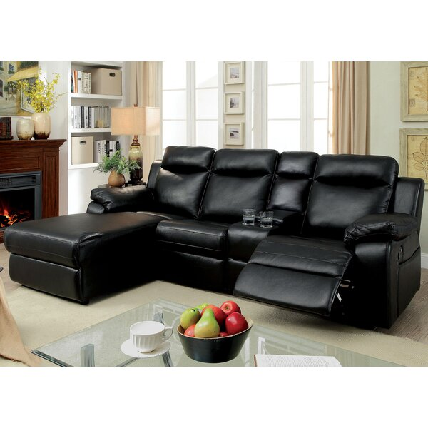 Dashing Style Hooten Left Hand Facing Reclining Sectional by Red Barrel Studio by Red Barrel Studio