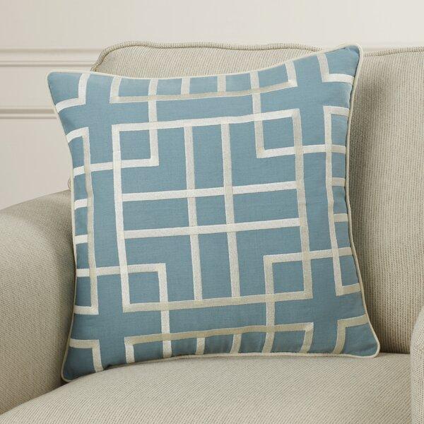 Patchoque Linen Throw Pillow by Mercer41