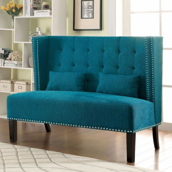 Robeson Traditional Loveseat by Charlton Home