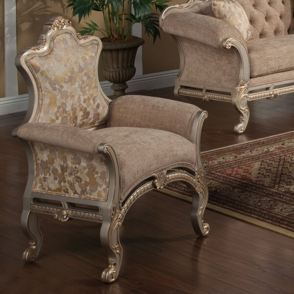 Oak Hill Armchair by Astoria Grand
