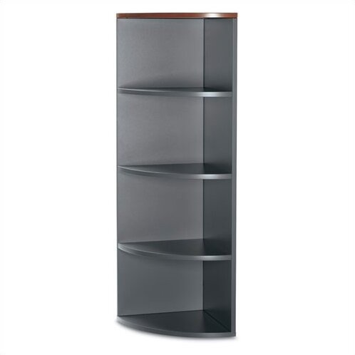 Adaptabilities Right End Corner Unit Bookcase by Global Total Office