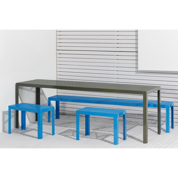 Howard Series Steel Picnic Bench by RAD Furniture