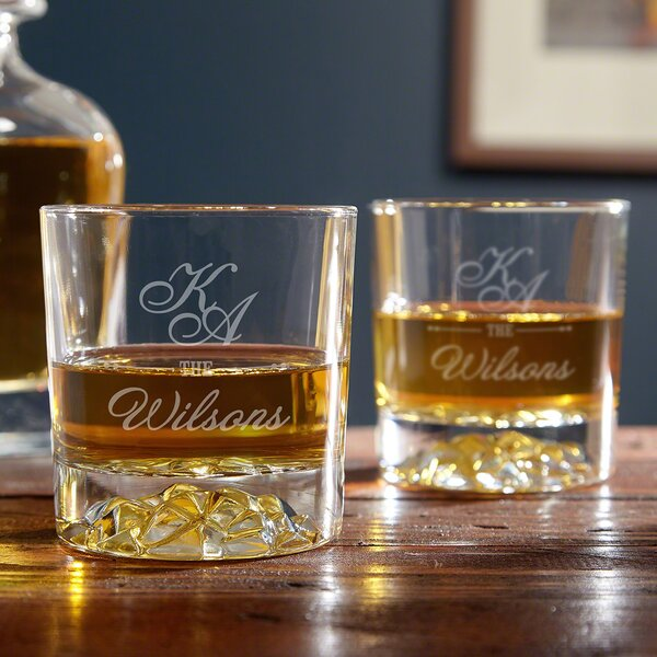 Sheridan Personalized 11 oz. Scotch Glass (Set of 2) by Home Wet Bar
