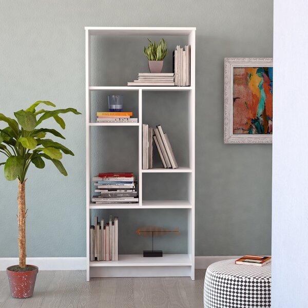 Union Rustic White Bookcases
