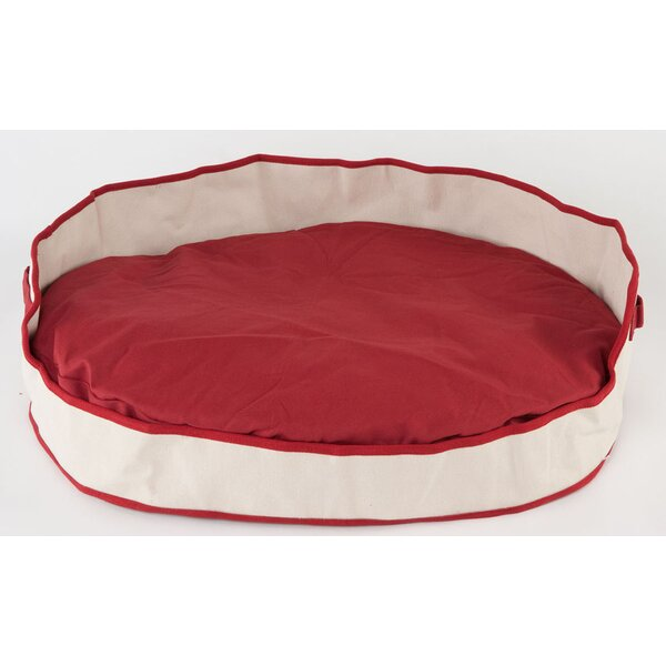Armes Oval Bolster Dog Bed by Tucker Murphy Pet