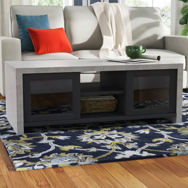Calvary Sled Coffee Table With Storage By Latitude Run